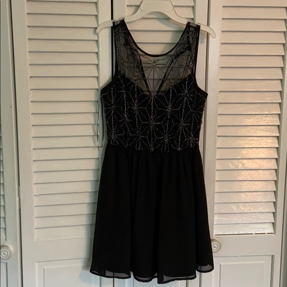 Dresses & Skirts - Sparkly Black Homecoming/Prom Dress